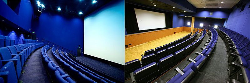 GalaC inema Screen 1 and Screen 2