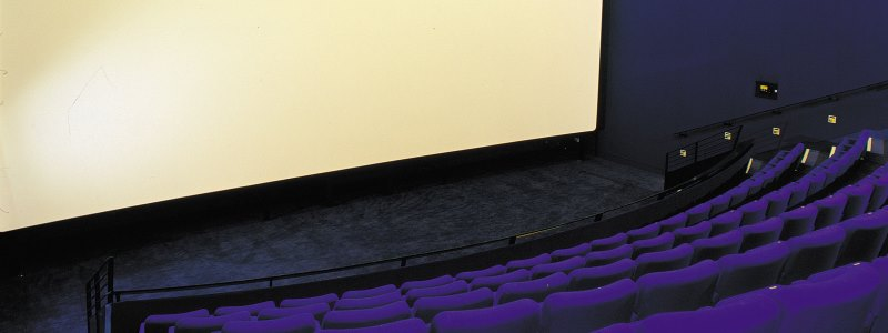 Screen 1 at the Gala Theatre