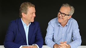 Jon Culshaw & Bill Dare - photo by Emma Samms