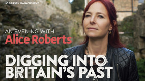 An Evening with Alice Roberts - Digging into Britain's Past